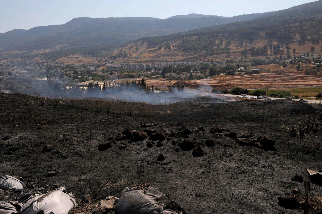 Disparan cohetes desde el Líbano, Israel responde con artillería