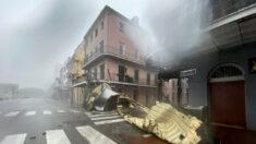 """Huracán Ida golpea Luisiana con vientos """"catastróficos"""" y deja 450,000 personas sin electricidad"""