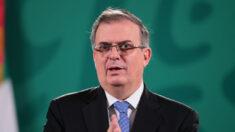 Canciller mexicano Ebrard dice que buscará candidatura presidencial en 2024