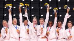 EE.UU. encabeza medallas de oro en Juegos Olímpicos de Tokio, superando por poco a China