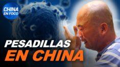 China en Foco: Ambiente de pesadilla en China: personas caen inconscientes, madres suplican, hombres abandonados