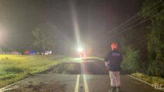 Derrumbe de una carretera en Mississippi deja al menos 2 personas muertas: Autoridades