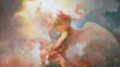"""La bondad del cielo es la clave: """"El ángel atando a Satanás"""""""