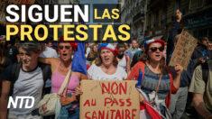 NTD Noticias: Franceses siguen rechazando el pasaporte sanitario
