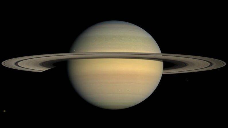 Una imagen de Saturno capturada por Cassini. (NASA/JPL/Instituto de Ciencias Espaciales)