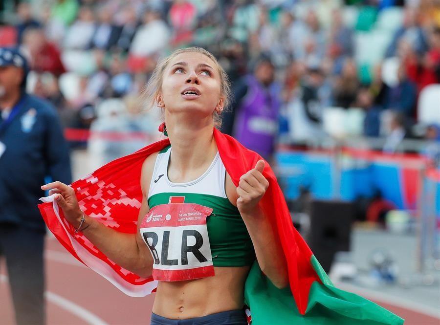 Polonia otorga visa humanitaria a una atleta bielorrusa que teme por su seguridad