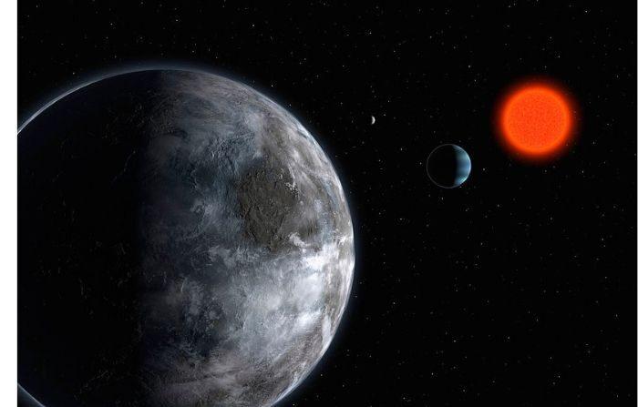 Imagen ilustrativa. Impresión artística proporcionada por el ESO (Observatorio Europeo Austral) el 25 de abril de 2007. (ESO vía Getty Images))