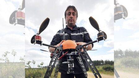 Piloto de drones rescata animales en medio de catástrofes naturales