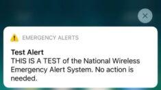 """""""No se necesita ninguna acción"""": FEMA prueba el sistema nacional de alerta de emergencia"""