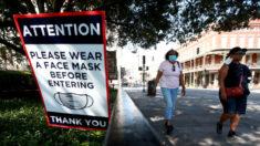 Luisiana es el primer estado en reimponer el uso obligatorio de mascarilla en interiores