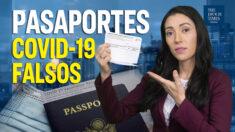 Al Descubierto: Venden pasaportes de COVID por Internet | Manifestaciones contra los mandatos de vacunas