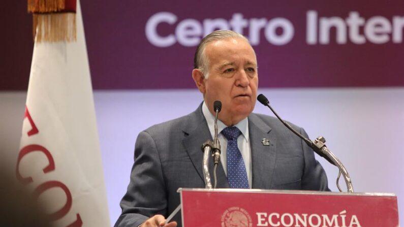 Fotografía de archivo en la que aparece Valentín Díez, presidente del consejo directivo del Instituto Mexicano de Competitividad (IMCO). EFE/ Sáshenka Gutiérrez