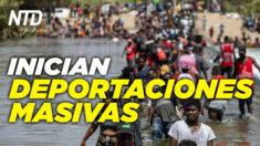 NTD Noticias: Admin. Biden inicia deportaciones; Experto: Biden admite cosas que son inconstitucionales