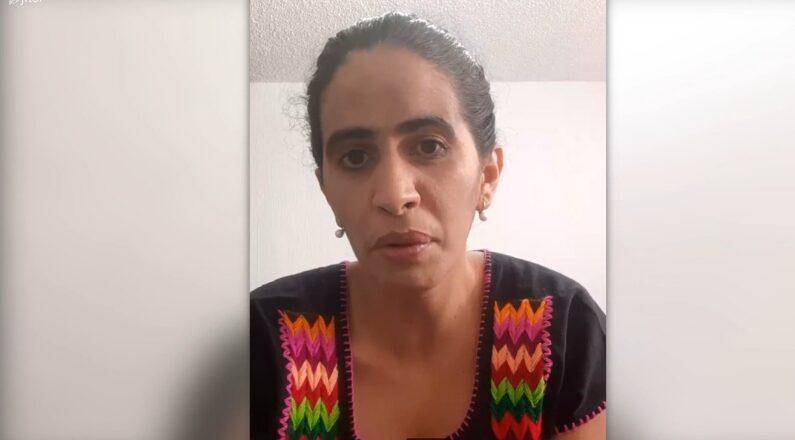 """Anamely Ramos, activista cubana y estudiante de doctorado de Antropología en la Universidad Iberoamericana habla con Epoch Times sobre la amenaza """"sutil"""" recibida en su Facebook sobre no dejarla entrar a Cuba, 21 de septiembre 2021. (The Epoch Times)"""