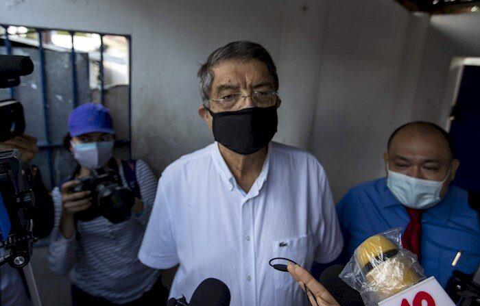 El escritor, novelista y exvicepresidente de Nicaragua Sergio Ramírez Mercado, en una fotografía de archivo. EFE/Jorge Torres