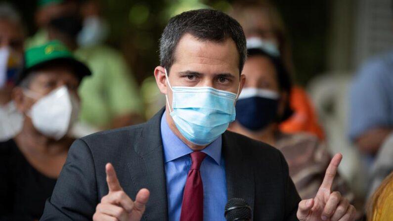 Juan Guaidó en una foto de archivo. EFE/ Rayner Peña