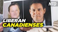 NTD Noticias: Canadienses detenidos en china regresan a Canadá; BLM se pronuncia sobre vacunación obligatoria