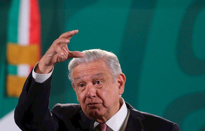 Imagen de archivo del presidente de México, Andrés Manuel López Obrador. EFE/ Sáshenka Gutiérrez