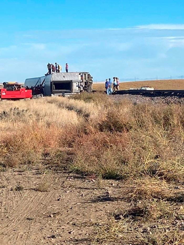 Al menos 3 muertos y varios heridos tras el descarrilamiento de un tren de Amtrak en Montana