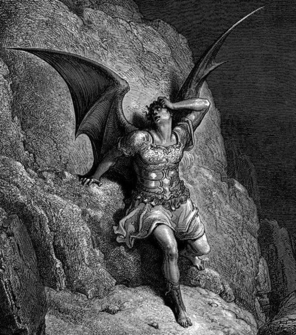 Satanás tienta a Eva