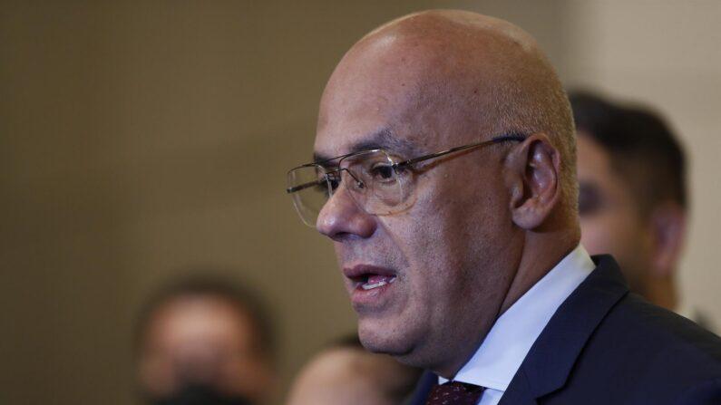 Fotografía de archivo del presidente de la Asamblea Nacional de Venezuela, Jorge Rodríguez. (EFE/José Méndez)