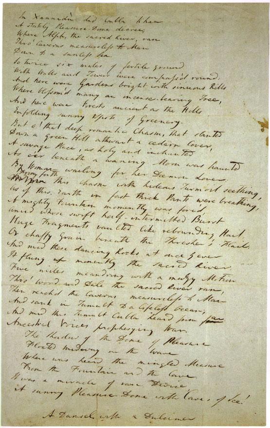 poesía de Samuel Taylor