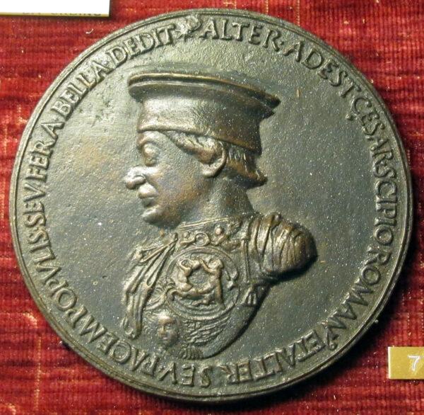 Medalla de Federico da Montefeltro, 1468, de Clemente da Urbino. (Saiko / CC-BY-SA 3.0)