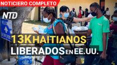 NTD Noticias: 13K inmigrantes ilegales liberados en EE.UU.; NY sustituirá trabajadores de salud no vacunados