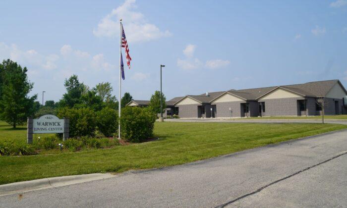 El sitio propuesto para un centro de reasentamiento residencial para adolescentes que son inmigrantes ilegales en Alma, Michigan, el 4 de agosto de 2021. (Steven Kovac/The Epoch Times)