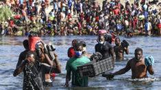Autoridades mexicanas proceden a retirar los haitianos de su frontera con EE. UU.