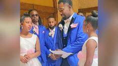 """Hombre propone adoptar a sus hijastras en su boda: """"La sangre no podría unirnos más"""""""