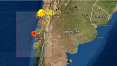 Sismo de magnitud 6.6 sacude la zona centro y sur de Chile