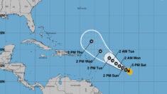 Los vientos máximos del huracán Sam suben a 220 km/hora y pueden aumentar más