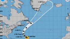 Huracán Larry mantiene la fuerza en su avance por el Atlántico