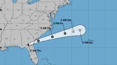 Mindy descarga lluvias en el sureste de EE.UU. y Larry avanza hacia Canadá