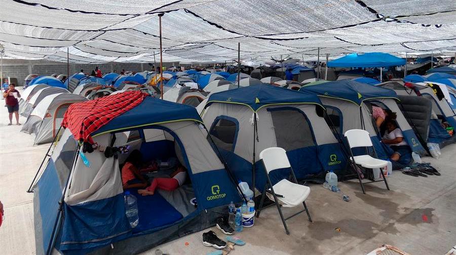 La llegada de haitianos satura los albergues de la ciudad mexicana de Reynosa