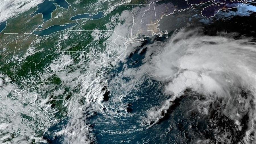 Tormenta tropical Odette prosigue su ruta en el Atlántico rumbo a Canadá