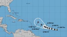 Depresión tropical se fortalece y convierte en la tormenta tropical Sam