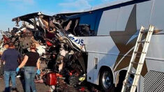 Al menos 16 muertos y 22 heridos en accidente en carretera de norte de México