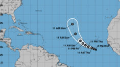 Se forma la depresión tropical 20 en el Atlántico y será tormenta