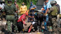 Hallan en el norte de México un centro de exterminio del crimen organizado
