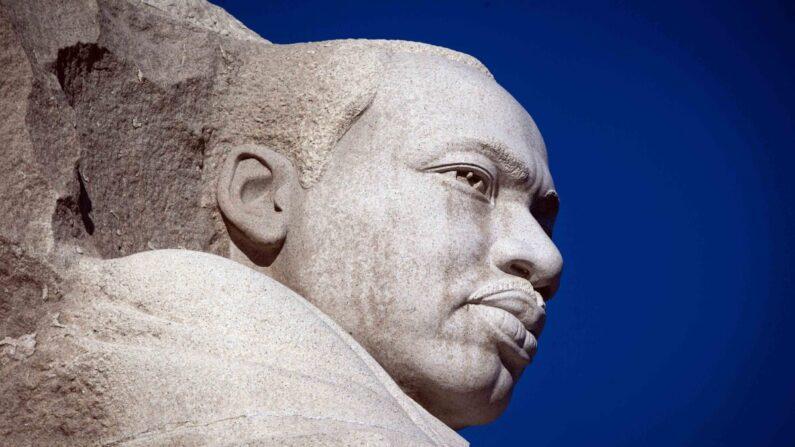 El monumento a Martin Luther King Jr. se ve en el Día de Martin Luther King en Washington el 21 de enero de 2019. (Al Drago/Getty Images)