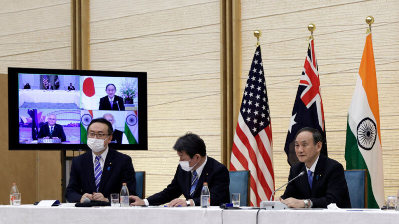 """Líderes de Quad se proponen un Indo-Pacífico """"libre y abierto"""" ante inquietud de la influencia de China"""