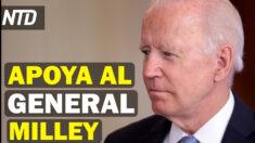 NTD Noticias: Biden apoya al gral. Milley tras informes sobre China; Gimnastas piden responsabilizar al FBI