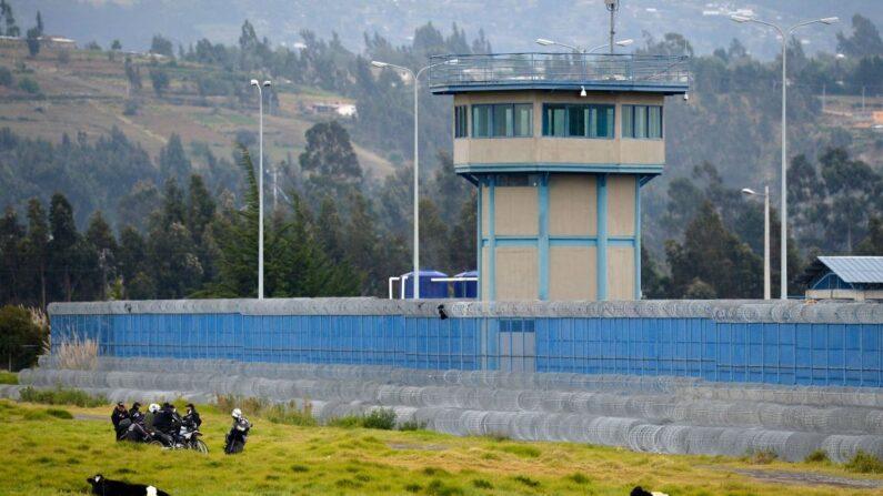 Vista de una cárcel en Ecuador, el 22 de julio de 2021. (Rodrigo Buendia/AFP vía Getty Images)
