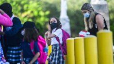 Pensilvania ordena el uso de mascarillas a los escolares