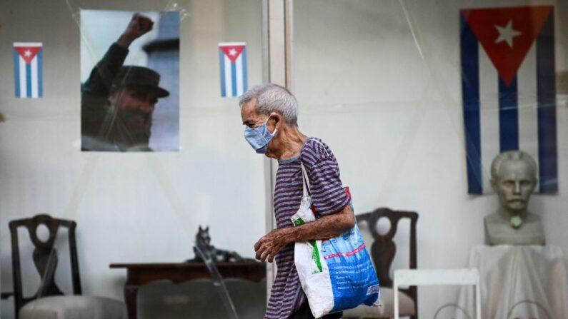 La Hanana, Cuba, 19 de agosto de 2021. (YAMIL LAGE/AFP via Getty Images)