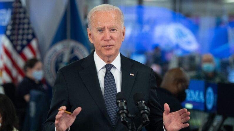 El presidente Joe Biden en Washington, DC, el 29 de agosto de 2021. (Saul Loeb/AFP a través de Getty Images)