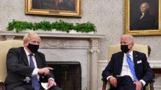 Biden derriba las esperanzas de Johnson para un rápido acuerdo comercial bilateral