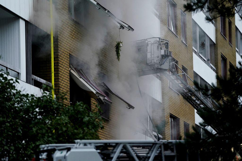 Una veintena de heridos en una explosión en un edificio de Suecia